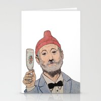 zissou Stationery Cards featuring Zissou by The A B Project