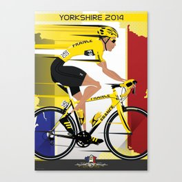 Grand Depart Yorkshire Tour De France  Canvas Print