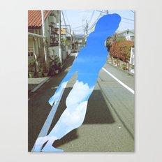 skygirl Canvas Print