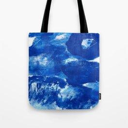 Bold Cerulean Tote Bag