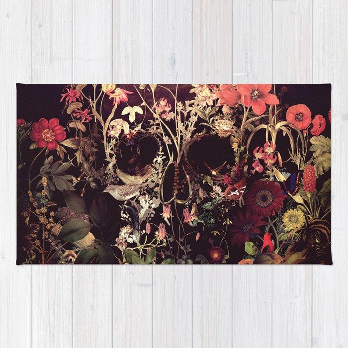 Bloom Skull Rug