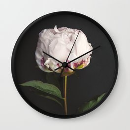 Peony - simply perfect Wall Clock
