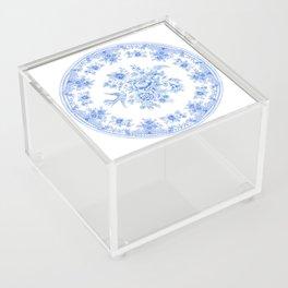 Blue asiatic pheasant Acrylic Box