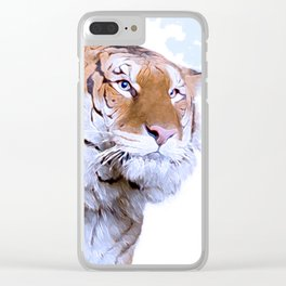 The Tiger Clear iPhone Case