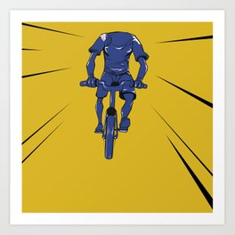 Bikeception! Art Print