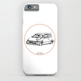 Crazy Car Art 0211 iPhone Case