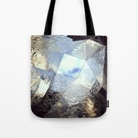mirror Tote Bags featuring mirror by Nat Alonso