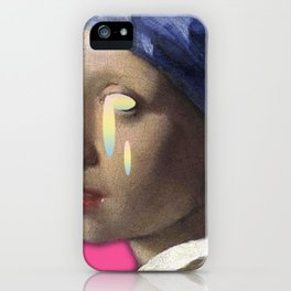 art is crying iPhone Case