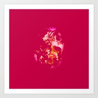 ruby Art Prints featuring Ruby by The Rogue Iris