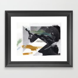Untitled (Painted Composition 2) Framed Art Print