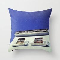 spanish Throw Pillows featuring Spanish House by Martin Llado