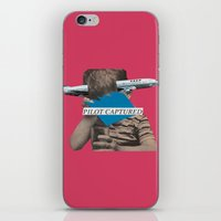 pilot iPhone & iPod Skins featuring Pilot Captured by Alicia Ortiz