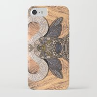 african iPhone & iPod Cases featuring African Buffalo by ArtLovePassion