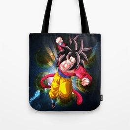 Super Saiyan 4 Goku Tote Bag