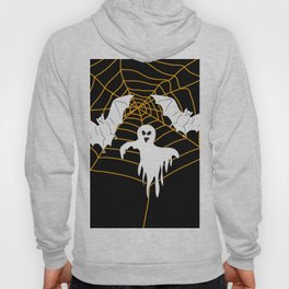 Bats and Ghost white - black color Hoody