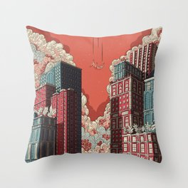 Dream - Free Fall Throw Pillow