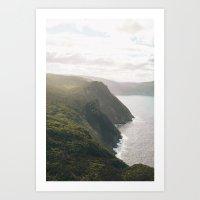 Tasmanian Coastline Art Print