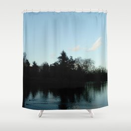 Nature, landscape and twilight 4 Shower Curtain