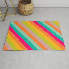 Stripes Colored Rug