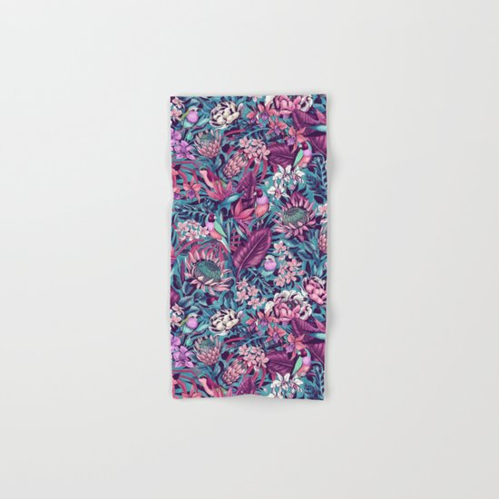 Stand Out! (electric blue) Hand & Bath Towel
