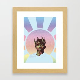 pastel lamar Framed Art Print