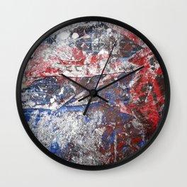 SupermanAbstract Wall Clock