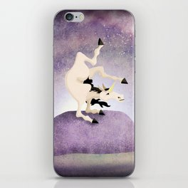 Cirque Du Unicorn V02 iPhone Skin