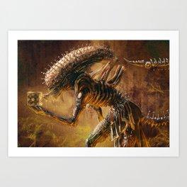 The Xenobite Art Print