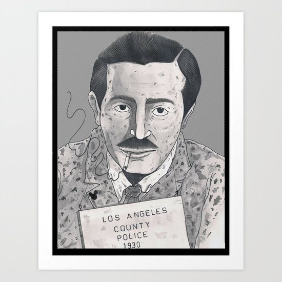 1930 Walt Art Print