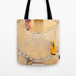 Amber Stepwell II, Rajasthan, India Tote Bag