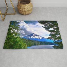 Mount Hood, Lost Lake, Oregon, USA Rug