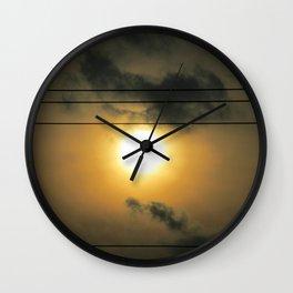 Between the Lines Wall Clock