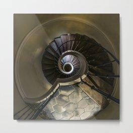 Circles and spirals Metal Print