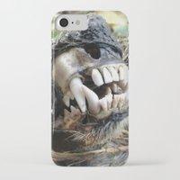 animal skull iPhone & iPod Cases featuring Animal Skull by CJ Thornburg