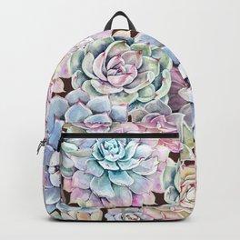 succulent allover Backpack