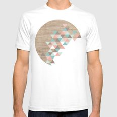 Archiwoo LARGE White Mens Fitted Tee