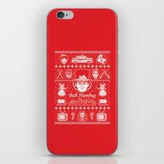 Merry Scroogedmas iPhone & iPod Skin