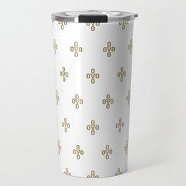 Pom Pom - White Travel Mug