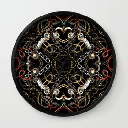 Chains and Jewelry Wall Clock