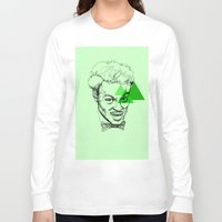 chuck Long Sleeve T-shirts featuring Chuck Berry by mr.defeo
