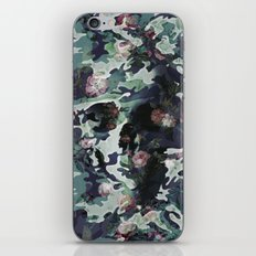 Camouflage Skull V2 iPhone & iPod Skin