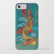 A tale of two fins. iPhone 8 Slim Case