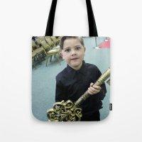 key Tote Bags featuring Key by Faith Buchanan