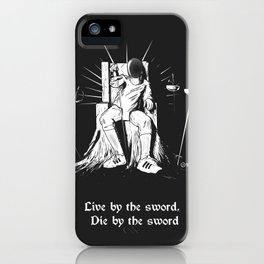 Fencer's Creed iPhone Case