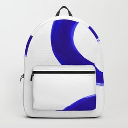 Enso Serenity No.6l by Kathy Morton Stanion Backpack
