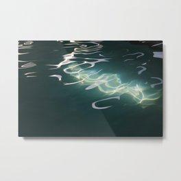 Night Swimming #2 Metal Print
