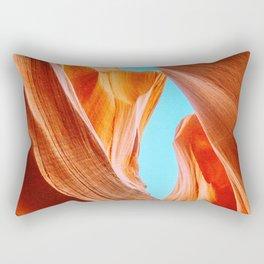 Like a Woman : Antelope Canyon 1 Rectangular Pillow