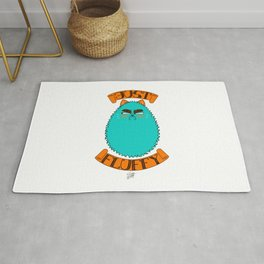 Just Fluffy (Teal) Rug