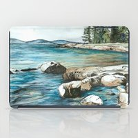 maine iPad Cases featuring Maine by Micaela Payne