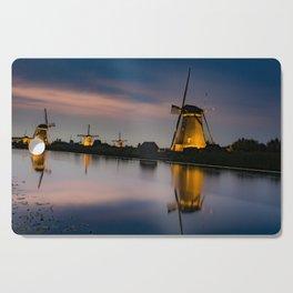 Dutch Wind Mills Cutting Board